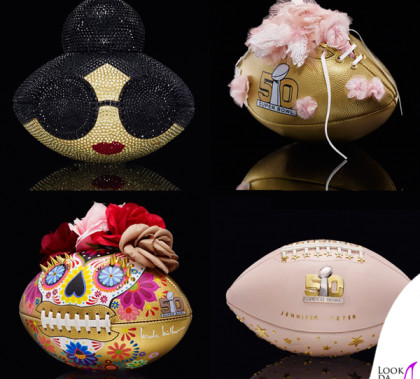 NFL Super Bowl CFDA Designer Footballs