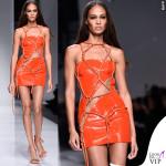 PFW 2016 Joan Smalls sfilata Versace Haute Couture