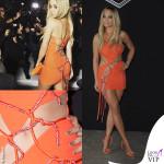 PFW 2016 Rita Ora sfilata Versace Haute Couture abito Atelier Versace 6