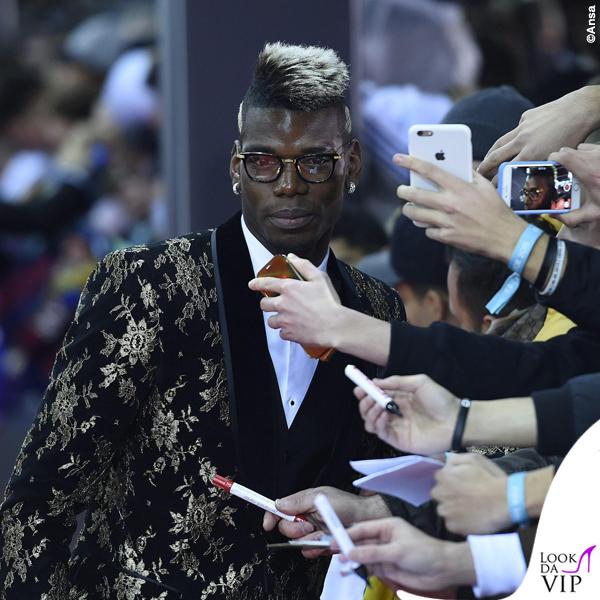 Pogba Pallone d'Oro giacca Dolce & Gabbana 3