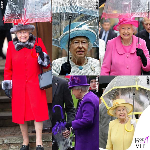 Regina Elisabetta ombrello Fulton Birdcage