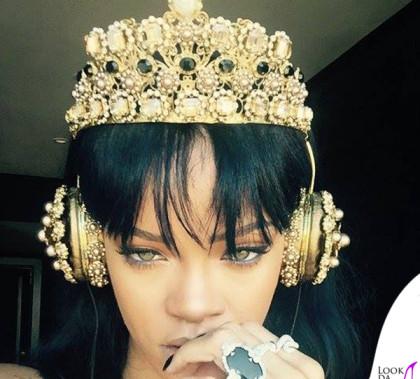 Rihanna cuffie Dolce&Gabbana