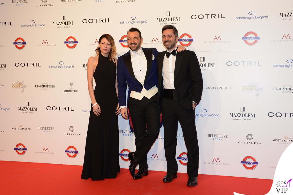 Sabrina Giovannelli, Alessandro Marotrana e Valerio Palmieri
