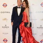 Stephan Lichtsteiner e la moglie