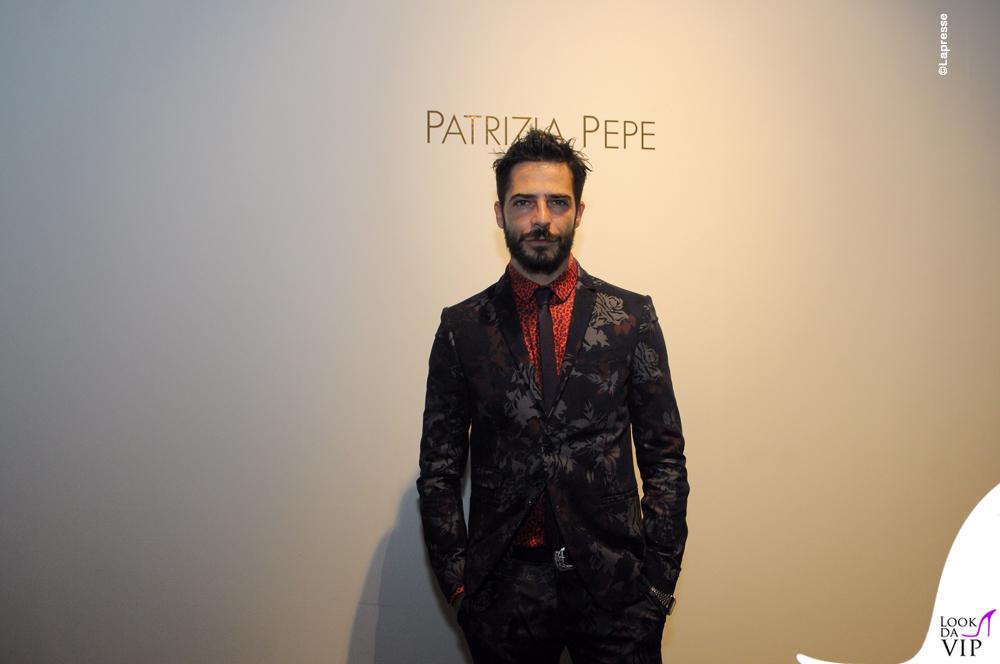 Marco Bocci Pitti 2016 Patrizia Pepe
