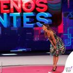 Belen Rodriguez Pequenos Gigantes abito Moschino 9