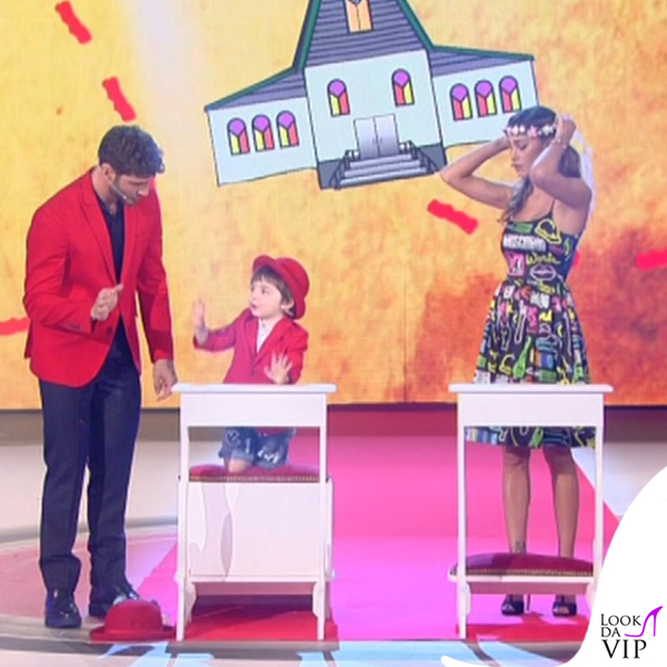 Belen Rodriguez Stefano De Martino Pequenos Gigantes 3