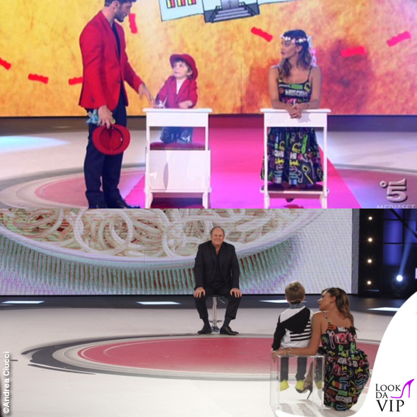 Belen Rodriguez Stefano De Martino Pequenos Gigantes 4