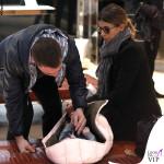Elisabetta Canalis Brian e Skyler Eva Perri shopping Casadei 9