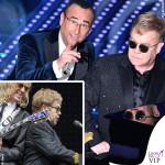 "Elton John all'Ariston con la giacca ""vecchia"""