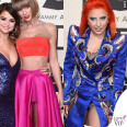 Grammy 2016 Taylor Swift total Atelier Versace Lady Gaga abito Marc Jacobs