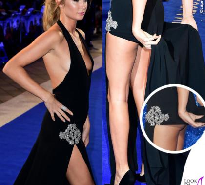 Zoolander 2 London premiere Millie Mackintosh abito Balestra scarpe Gina gioielli Apples & Figs