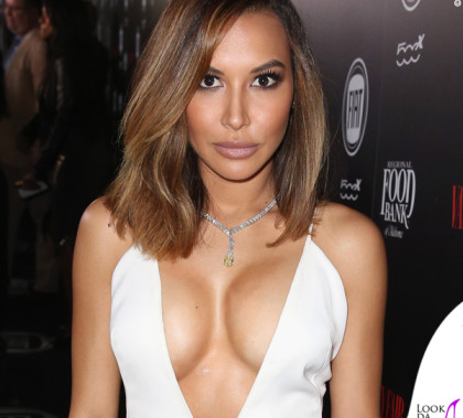 Naya Rivera Vanity Fair and Fiat's Young Hollywood Celebration abito Tadashi Shoji