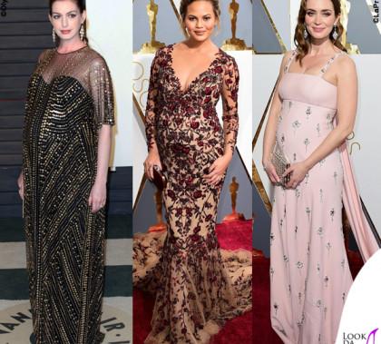 Oscar 2016 Anne Hathaway Chrissy Teigen Emily Blunt