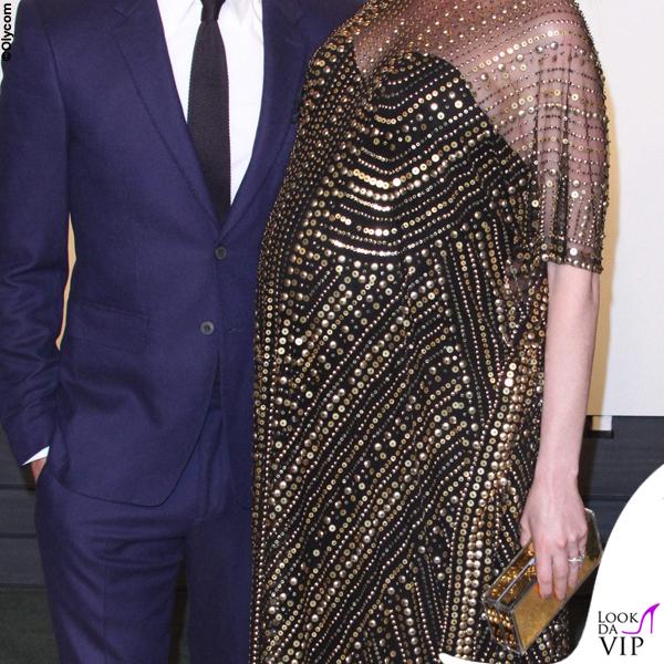 Oscar 2016 Anne Hathaway abito Naeem Khan 3