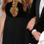 Oscar 2016 Hannah Bagshawe abito Alexander McQueen e Eddie Redmayne 3