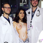 Salma Hayek nuda (e ubriaca) al P. Soccorso