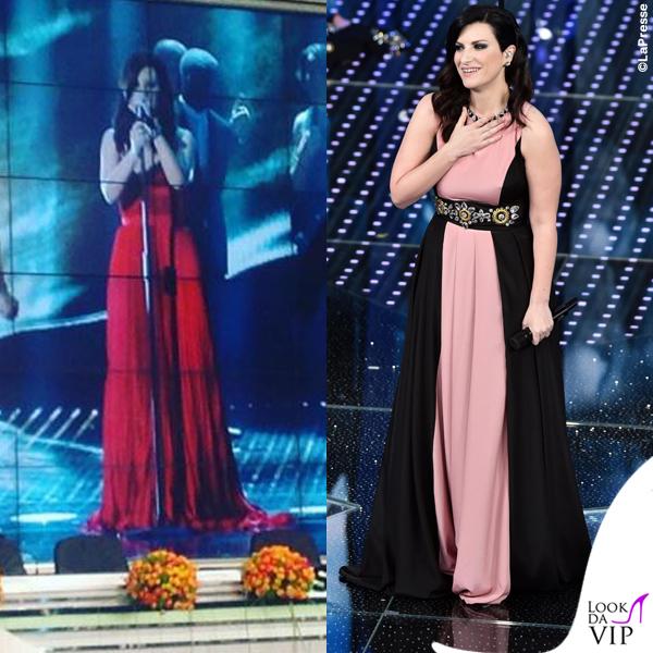 Sanremo-2016-prima-serata-Laura-Pausini-abito-Stefano-De-Lellis