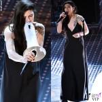 Sanremo-2016-quarta-serata-Elisa abito-Calvin Klein