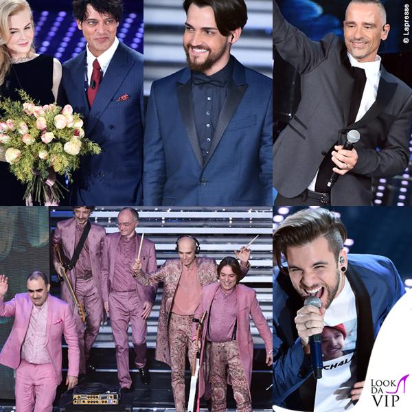 Sanremo 2016 seconda serata Kidman Garko Scanu Ramazzotti Elio Bernabei