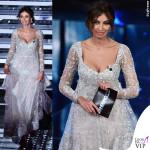 Sanremo 2016 seconda serata-Madalina-Ghenea abito-Zuhair-Murad