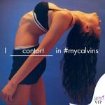 Sophia Tatum in Mycalvins slip Calvin Klein