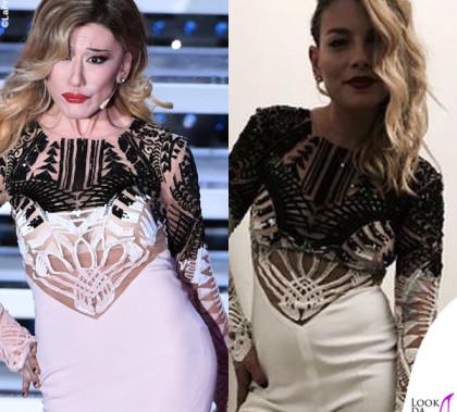 Virginia Raffaele Festival di Sanremo 2016 Belen Rodriguez Emma Marrone outfit Mario Dice
