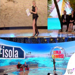 Alessia Marcuzzi Isola dei Famosi prima puntata abito Versace 10