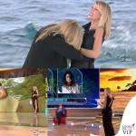Alessia Marcuzzi Isola dei Famosi prima puntata abito Versace 11
