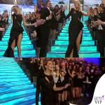 Alessia Marcuzzi Isola dei Famosi prima puntata abito Versace 3