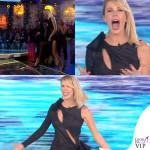 Alessia Marcuzzi Isola dei Famosi prima puntata abito Versace 4