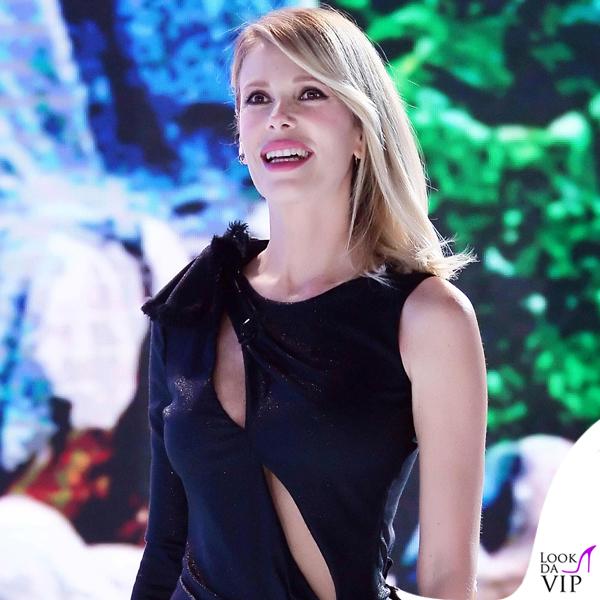 Alessia Marcuzzi Isola dei Famosi prima puntata abito Versace 5
