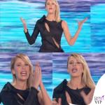 Alessia Marcuzzi Isola dei Famosi prima puntata abito Versace 6
