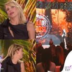 Alessia Marcuzzi Isola dei Famosi prima puntata abito Versace 9