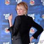 Alessia Marcuzzi presentazione Isola dei Famosi total Versace 2