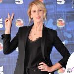 Alessia Marcuzzi presentazione Isola dei Famosi total Versace 4