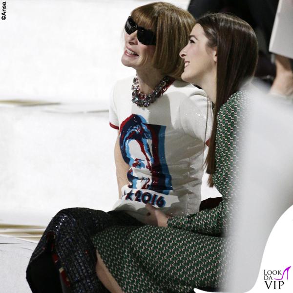 Anna Wintour tshirt Hillary Clinton sfilata Marc Jacobs 2