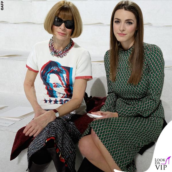Anna Wintour tshirt Hillary Clinton sfilata Marc Jacobs
