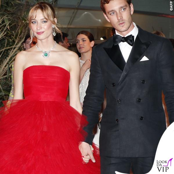 Beatrice Borromeo Ballo della Rosa abito Giambattista Valli gioielli Piaget 2