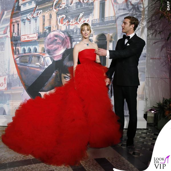 Beatrice Borromeo Ballo della Rosa abito Giambattista Valli gioielli Piaget 4
