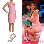 Belen Rodriguez abito Moschino scarpe Cerasella 2
