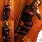 Cristina De Pin abito Byblos