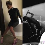 Emma Marrone abito Ash scarpe Paula Cademartori