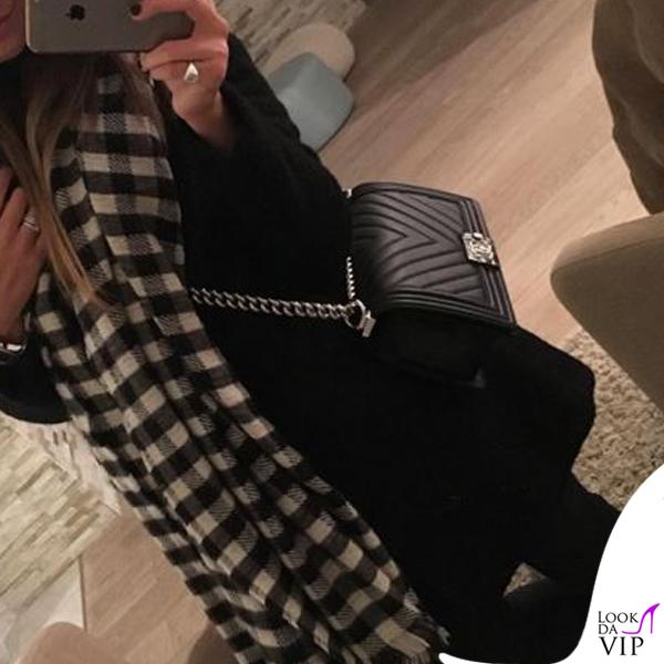 Federica Pignotti borsa Chanel Boy 2