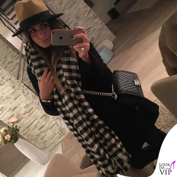 Federica Pignotti borsa Chanel Boy