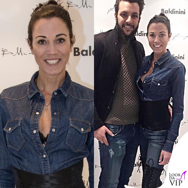 Federica Torti camicia Roy Rogers jeans Relish stivali Baldinini bustier Floriane Deluxe