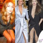 Gigi, Blake e Selena tradite dallo spacco