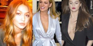 Gigi Hadid abito Versace Blake Lively abito Ralph & Russo Selena Gomez abito Ronald Van Der Kemp spacco inguine
