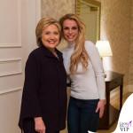 Hillary Clinton e Britney Spears
