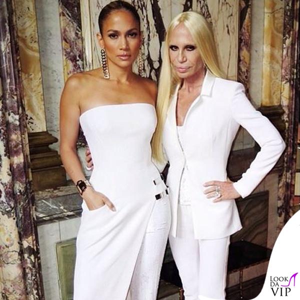 187096004328     · Jennifer Lopez Donatella Versace abito Atelier Versace autunno  inverno 2014 Paris Haute Couture